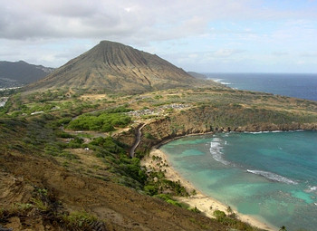 Hanauma Bay Ridge, Oahu, Hawaii.