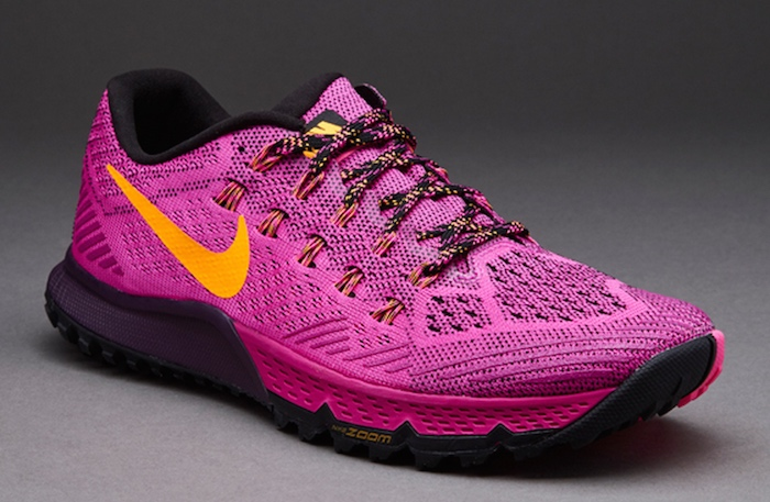 Womens Nike Zoom Terra Kiger 3 in Fuschia Pink - trail running shoes.