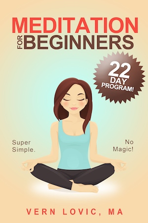 A 22 day program for beginners to learn meditation easily and quickly.